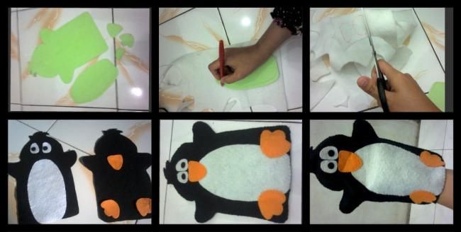 Cara membuat Boneka tangan Sederhana